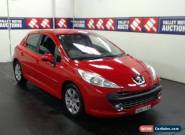 2008 Peugeot 207 XT Hatchback BGK14X for Sale