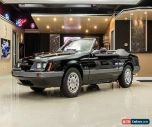 Classic 1986 Ford Mustang Convertible for Sale