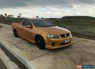 2009 Holden Commodore SV6 UTE for Sale