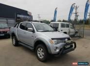 MITSUBISHI TRITON 2007 TURBO DIESEL 4X4 GLX-R DOUBLE CAB UTE MANUAL hilux for Sale