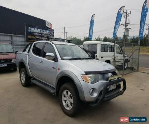 Classic MITSUBISHI TRITON 2007 TURBO DIESEL 4X4 GLX-R DOUBLE CAB UTE MANUAL hilux for Sale