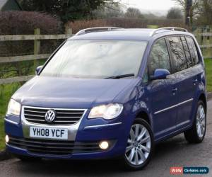 Classic 2008 Volkswagen Touran 2.0TDI DPF 170PS 7seater Sport Manual Diesel MOT for Sale