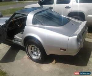 Classic 1981 Chevrolet Corvette SILVER EDITION for Sale
