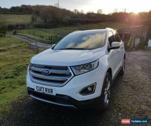 Classic 2017 Ford Edge Titanium diesel 20 TDCI AWD 4 x 4 FFSH sat nav heat seats REDUCED for Sale