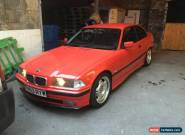 1997 BMW 323I RED M3 LOOK 2.5 LTR  for Sale