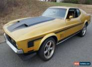 1972 Ford Mustang MACh 1 for Sale