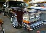 1985 Cadillac Fleetwood for Sale