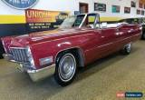 Classic 1968 Cadillac DeVille Convertible for Sale