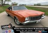 Classic 1972 Chevrolet Monte Carlo 350 - 4 speed, Hugger Orange, Mint  Restored for Sale