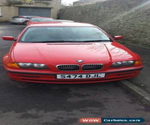 Classic 1999 BMW 323I SE RED, spare or repair, start and drive, no mot for Sale