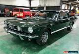 Classic 1966 Ford Mustang GT A-code 289 for Sale