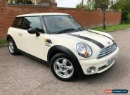 2009 59 MINI Hatch 1.4 One 3dr White 66,150 miles only for Sale