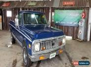 1972 Chevrolet Other Pickups Custom Deluxe for Sale