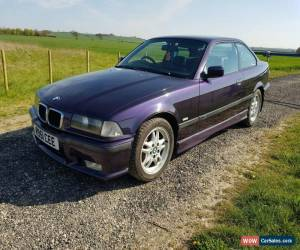 Classic BMW E36 318i Msport Techno Violet Project Track Drift for Sale