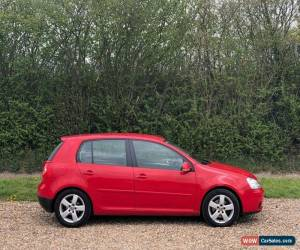 Classic 2007 07 VOLKSWAGEN GOLF 2.0 TDI SPORT DSG 5DR RED  for Sale