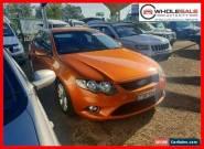 2010 Ford Falcon FG XR6 Orange Automatic A Sedan for Sale
