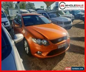Classic 2010 Ford Falcon FG XR6 Orange Automatic A Sedan for Sale
