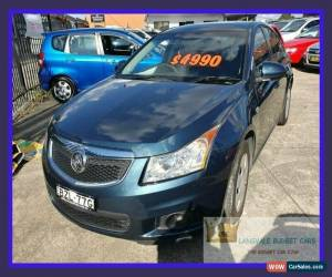 Classic 2011 Holden Cruze JH Series II CD Green Automatic A Sedan for Sale