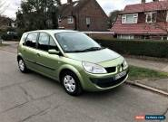 2007 Renault Scenic 1.5 dCi LHD + LEFT HAND DRIVE + FRENCH REG for Sale