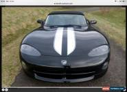 1996 Dodge Viper 2 Dr Convertible for Sale