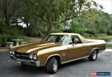 Classic 1970 Chevrolet EL Camino SS 396 True SS 396 for Sale