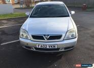 2002 VAUXHALL VECTRA ELEGANCE 16V AUTO SILVER for Sale