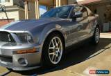 Classic 2007 Ford Mustang GT500 for Sale