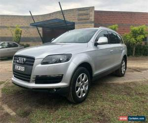Classic 2007 Audi Q7 TDI Silver Automatic A Wagon for Sale