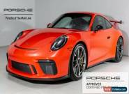 2018 Porsche 911 GT3 for Sale