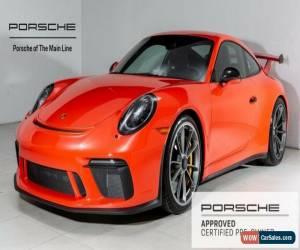 Classic 2018 Porsche 911 GT3 for Sale