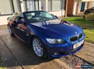 BMW 325d M Sport Convertible Le Mans Blue for Sale