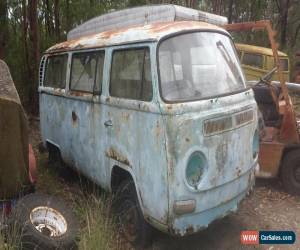 Classic VW Kombi low light 8 seater tagged bus, very rare,very rusty for Sale