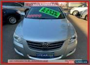 2008 Toyota Aurion GSV40R Prodigy Silver 6sp 6 SP AUTO SEQUENTIAL Sedan for Sale