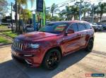 2012 Jeep Grand Cherokee WK SRT-8 Maroon Automatic A Wagon for Sale