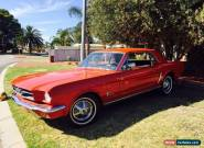 FORD MUSTANG 1965 COUPE 6 CLY for Sale