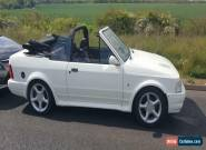 1987 Ford Escort XR3I CONVERTIBLE WITH TURBO CONVERSION  for Sale