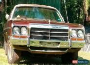 1979 Chrysler Valiant Regal for Sale