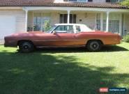 Cadillac Eldorado Coupe for Sale