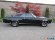 1972 Chevrolet Chevelle Convertible A/T for Sale