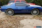 Classic 1987 Chevrolet Camaro for Sale