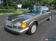 1987 Mercedes-Benz S-Class for Sale