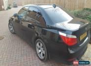 BMW 520i (2004) 04 Plate - Black  for Sale