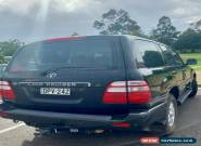 2003 Landcruiser Sahara 362,xxx km, Black 5 speed auto - REDUCED AGAIN for Sale