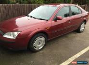 Ford Mondeo LX 2001 Petrol 130ps for Sale