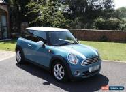 Mini Cooper D 2009 59 Plate, 58000 Miles, Blue, A/C,  for Sale