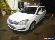 2008 VAUXHALL ASTRA LIFE CDTI WHITE for Sale