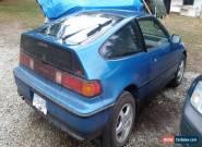 Honda: CRX 2 Door Coupe for Sale