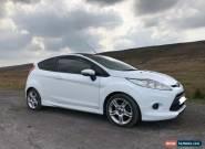 2012 Ford Fiesta Zetec S 1.6 Diesel - White for Sale