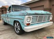 1967 Ford F-100 custom cab for Sale