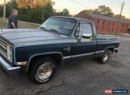 1987 Chevrolet C-10 for Sale